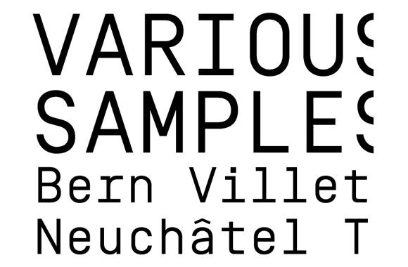 Swiss Typefaces | TYPECACHE COM