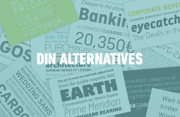 DIN Alternatives | TYPECACHE COM