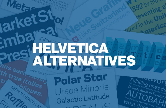Helvetica Alternatives | TYPECACHE COM