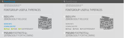 FontGroup