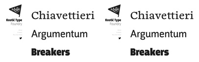 Kostic Type Foundry