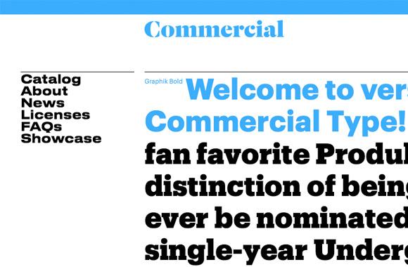 Commercial Type   TYPECACHE COM