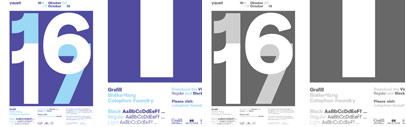 Visuelt by @colophonfoundry: it was originally created as a bespoke face for the 2013 and 2014 identity for Visuelt.