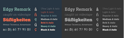DIN Next Slab' the slab serif version of DIN Next. The Medium weight is free of charge.