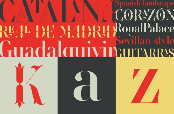 Font News [New Font Release] Retiro by @typofonderie: a