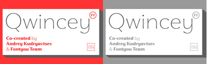 Qwincey FY by @Fontyou