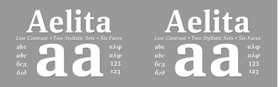 Aelita by @ParaTypeNews. Each style for $5 until Dec 28. It also supports Cyrillic and Greek.