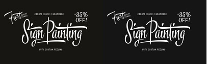 Frost by Fenotype. 35% off until Feb 21.