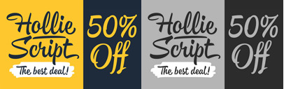 Hollie Script by Estudio Calderon. 50% off until Mar 23.
