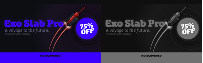 Exo Slab Pro by @thendiscovered. 75% off until Apr 16.
