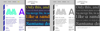 New type foundries' BenBenWorld and Armasen' have been added to our list.