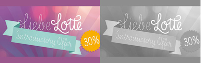 LiebeLotte by @LiebeFonts: the monoline script typeface comes with 6 weights. 30% off until May 17.