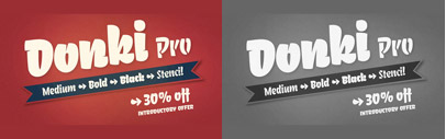 Donki Pro' a revised version of Donki' by Gunnar Link. 30% off until Jun 1.