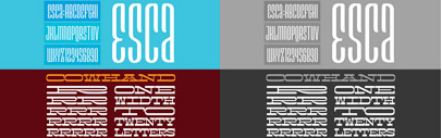 The #FontMarathon typefaces are now available.