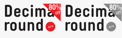 Decima Round' one more addition to the Decima fonts family. Decima Round Family is 80% off until July 2.