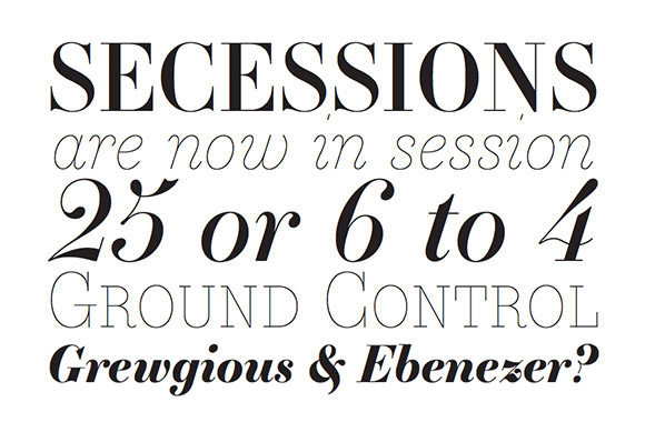 Font News [New Font Release] Essonnes, a contemporary Didot