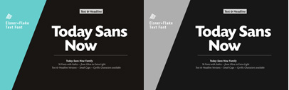 Today Sans Now' a new version of Today Sans