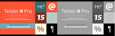 Telder HT Pro by @huertatipo. 50% off for a limited time.