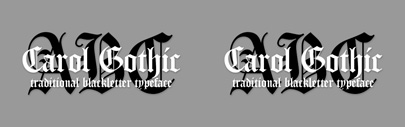 Carol Gothic by @ParaTypeNews. One style for $5 until July 20.