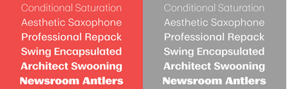 Moriston' a contrasted sans serif' by @rileycran