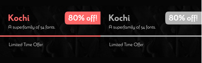 Sangli' formerly known as Kochi' by @insigneDesign. 80% off until Nov 16.