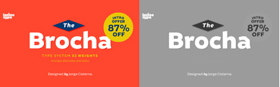 Brocha by Jorge Cisterna. Brocha Complete Family is 87% off until Nov 29.