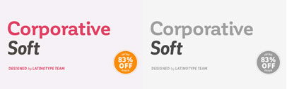 Corporative Soft by @Latinotype