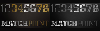 MatchPoint by Vasava Fonts