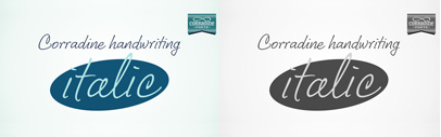 Corradine Handwriting Italic by Corradine Fonts
