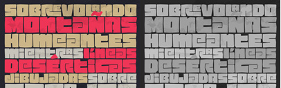 Pacha' a free font' by @sumo_type