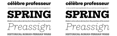 Equitan Sans & Equitan Slab by @TypeThoughts