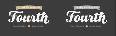 Fourth by Jason Vandenberg. Fourth Family is 70% off until Mar 10.