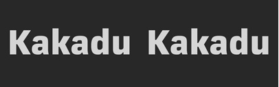 Kakadu by @LudwigType. The entire family is €119.00 for a limited time. ($131.60 at MyFonts until April 19.)