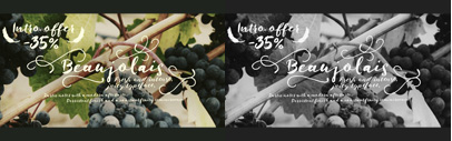 Beaujolais by Fenotype. 35% off until April 30.