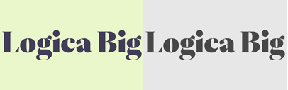 Logica Big by @DSType_Foundry