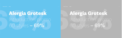 Alergia Grotesk by Borutta Group. 69% off until Jun 6.