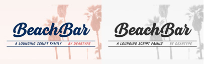 BeachBar by DearType. BeachBar Family is 71% off until July 23.