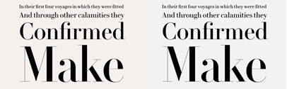 @commercialtype released Le Jeune' originally designed for Vanity Fair in 2013.