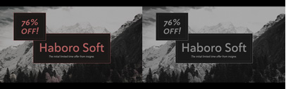Haboro Soft by @insigneDesign. 76% off until Sep 2.