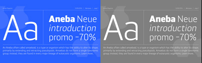 Aneba Neue by BORUTTA GROUP. 70% off until Sep 11.