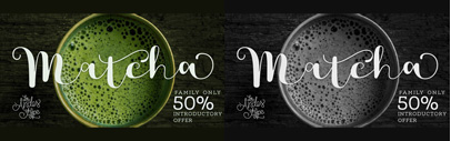 Matcha by Los Andes. Matcha Family is 50% off until Sep 22.