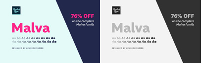Malva by @harbortype. The complete family is 76% off until Oct 7.