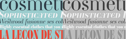 A brand new Ambroise in 28 fonts & 3 widths including new italics.