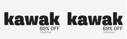 Kawak by @Latinotype. Kawak Family is 69% off until Nov 18.