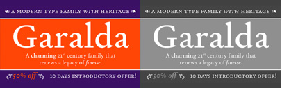 "Garalda by Xavier Dupré. Introductory offer: the complete bundle is 50% off with coupon code ""4b58d4d"" until Nov 19."