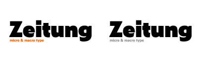 @underware released Zeitung Standard and Zeitung Micro. They also released Zeitung Flex.