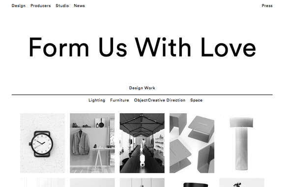 Font News Font ID: What's the web font does Form Us With Love use ...