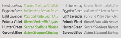 Hoefler & Co. released Whitney Condensed Italic and Whitney Condensed ScreenSmart.