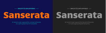 @TypeTogether released Sanserata by Gerard Unger.