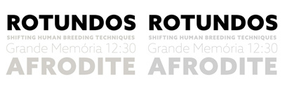 Azo Sans' a new humanized geometric grotesque' by Rui Abreu.